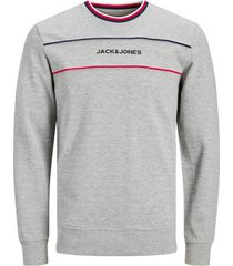 sweater jack & jones sweatshirt à col rond