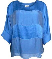 kadia blouse indigo blue