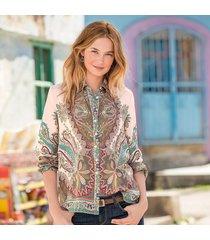 paisley inspiration blouse