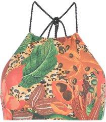 água de coco por liana thomaz bikini tops