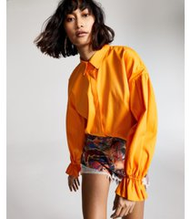 inc oversized shirt, created for macy's