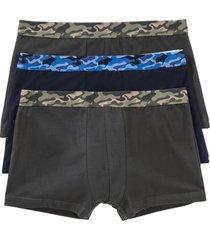 boxershorts i ekologisk bomull (3-pack)