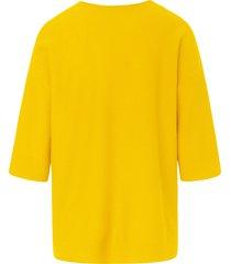 trui v-hals en 3/4-mouwen van include geel
