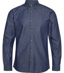 onsask life ls chambray shirt noos skjorta casual blå only & sons