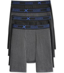 hanes men's 4-pack x-temp performance boxer briefs