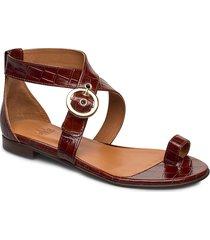 shoes 4142 shoes summer shoes flat sandals brun billi bi