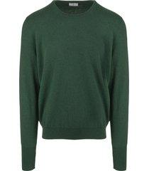 fedeli dark green arg vintage man pullover