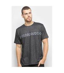 camiseta hd especial grid masculina