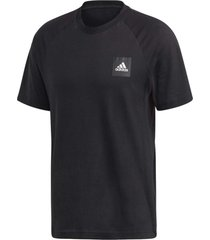 camiseta adidas mhesta masculina fl4003, cor: preto, tamanho: g - preto - masculino - dafiti