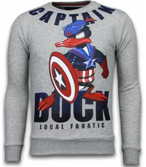 sweater local fanatic captain duck rhinestone