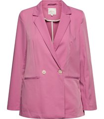 visally tailored blazer/za blazers casual blazers rosa vila