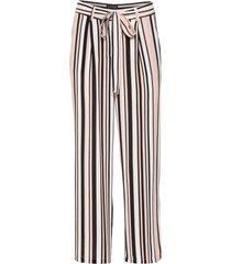 pantaloni cropped larghi (rosa) - bodyflirt