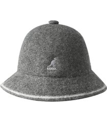women's kangol cloche hat - grey