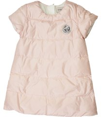 moncler padded dress with short sleeves