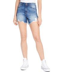 rewash juniors' super-high-rise distressed denim shorts