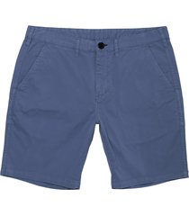 paul smith dark blue stretch pima-cotton shorts pupd-035r-519