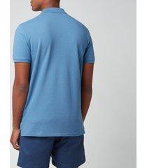 polo ralph lauren men's mesh polo shirt - delta blue - xxl