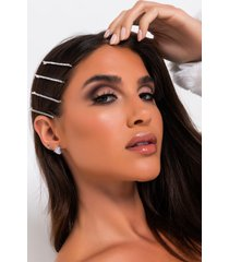 akira all of the lights four piece hair clip set