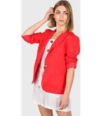 blazer rojo montjuic luca lino