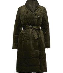 mistal otw gevoerde lange jas groen part two