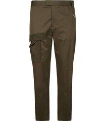 les hommes nylon pocket slim fit trousers