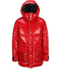 north face brown ripstop heritage down jacket