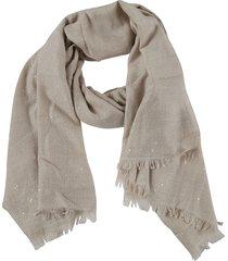 brunello cucinelli fringed edge scarf