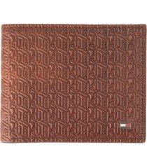 tommy hilfiger men's rfid passcase wallet