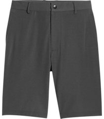 msx by michael strahan modern fit activewear shorts graphite