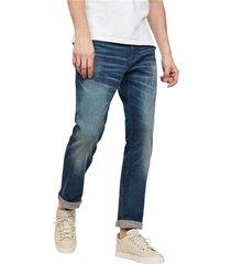 g-star 51002 a088 - 3301 straight jeans men denim medium blue