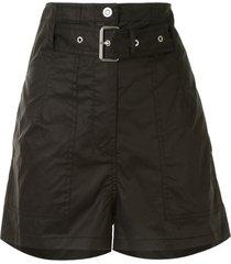 3.1 phillip lim belted short shorts - black