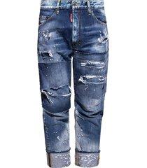bestrijd raw-cut jeans