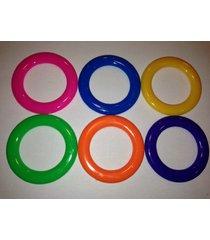 20 - carnival cane rack rings - toss soda liquor school party ring plastic throw