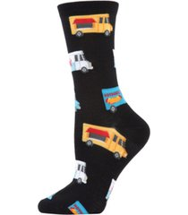memoi food trucks women's novelty socks