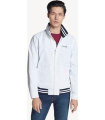 tommy hilfiger men's essential regatta jacket bright white - xl