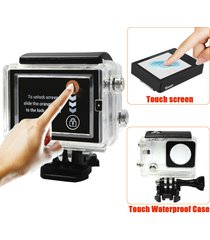 lcd touch screen display with 3m waterproof touch case for gopro hero 3+ 4