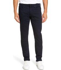 men's big & tall paige transcend federal slim straight leg jeans, size 44 - blue