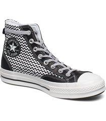 chuck 70 hi höga sneakers svart converse