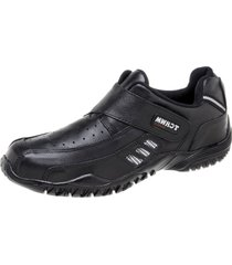 sapatãªnis tchwm shoes couro preto - preto - masculino - couro - dafiti