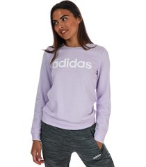womens essentials linear sweatshirt