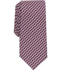 alfani men's norton geometric necktie, created for macy's