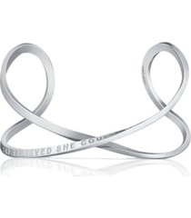 mantraband women's she believed she could, so she did infinity bracelet