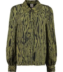 baum und pferdgarten mafalda printed viscose shirt
