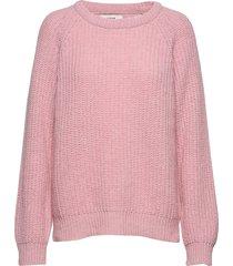 recycled favorite wool ketty gebreide trui roze mads nørgaard
