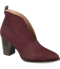 journee collection women's bellamy booties women's shoes
