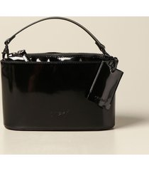 marsell handbag marsell almond bag in patent leather