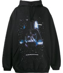 vetements x star wars darth vader hoodie black
