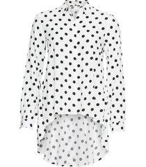 camicia asimmetrica (bianco) - bodyflirt