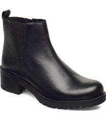 womens lugnut shoes chelsea boots svart skechers