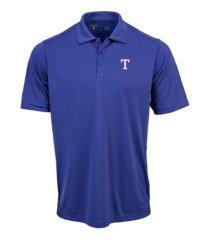 antigua men's texas rangers tribute polo shirt